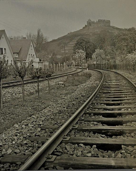 Als noch zwei Strecken dicht an den Hä...ien nach Münstertal und nach Sulzburg     Foto: Stadtarchiv Staufen