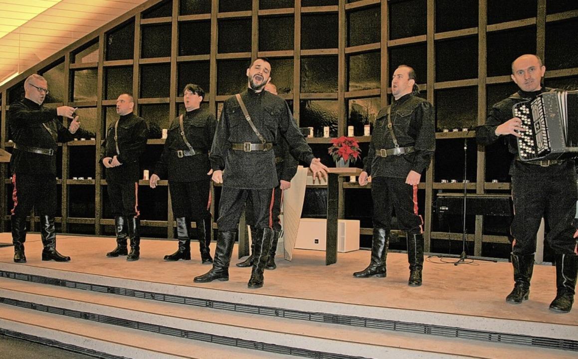 Mit russisch-orthodoxer Kirchenmusik u...die Zuhörer beim Konzert in Breisach.     Foto: Christine Weirich