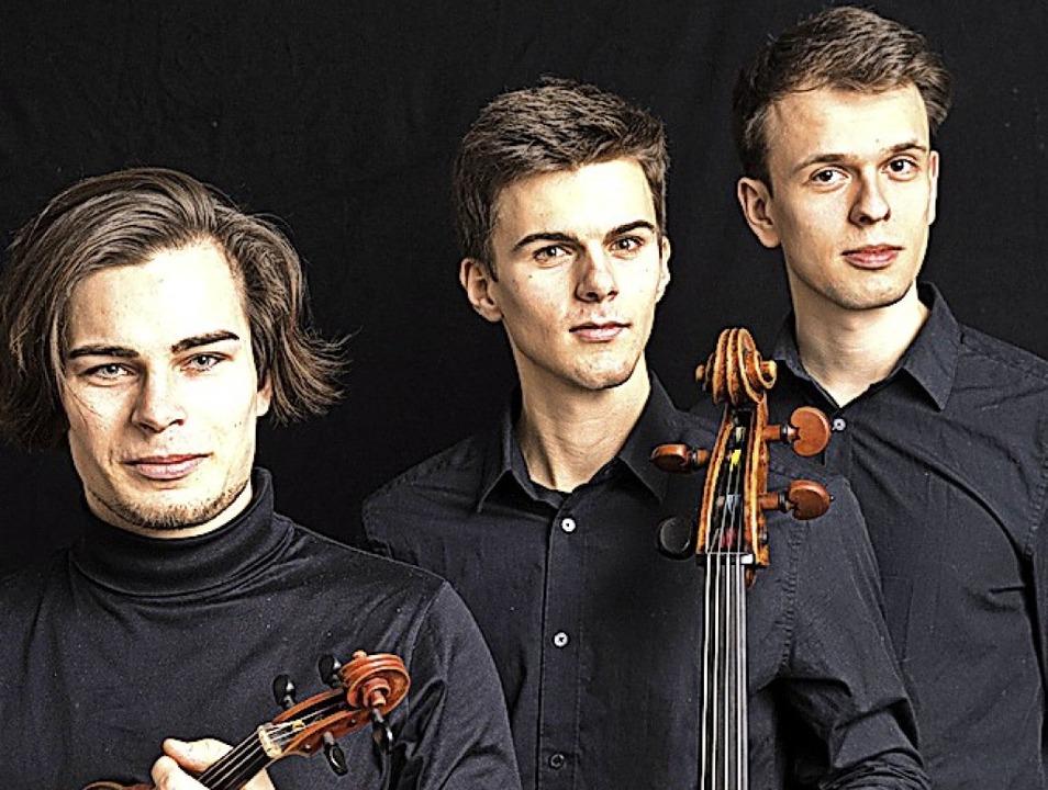 Das Atreus Trio spielt in Fahrnau Beethoven, Schubert und mehr.  | Foto: Michael Reineke