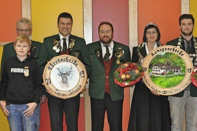 Das neue Schützenkönigspaar heißt Rita und Tobias
