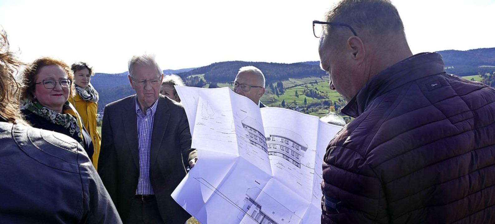 Befürworter und Gegner des Projektes &...ermeisterstellvertreterin Gaby Stich.   | Foto: Claudia Renk