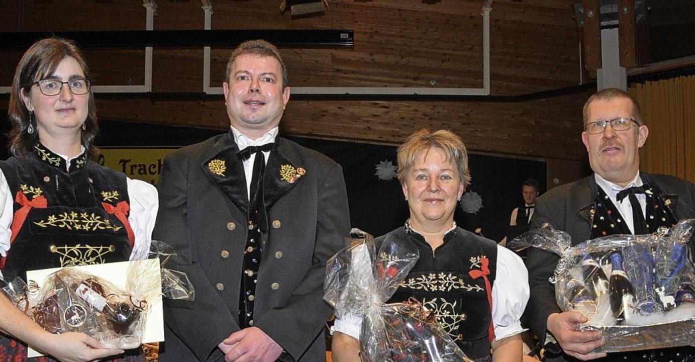 Die Geehrten (von links): Steffi Weile...ller, Birgit Thoma und Hubert Kaiser.     Foto: Stefan Pichler