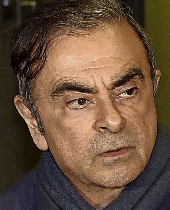 Carlos Ghosn im April 2019    Foto: KAZUHIRO NOGI (AFP)