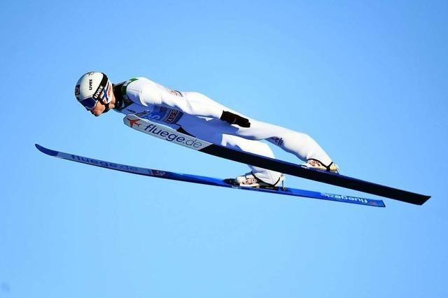 Karl Geiger wahrt Siegchance bei Vierschanzentournee