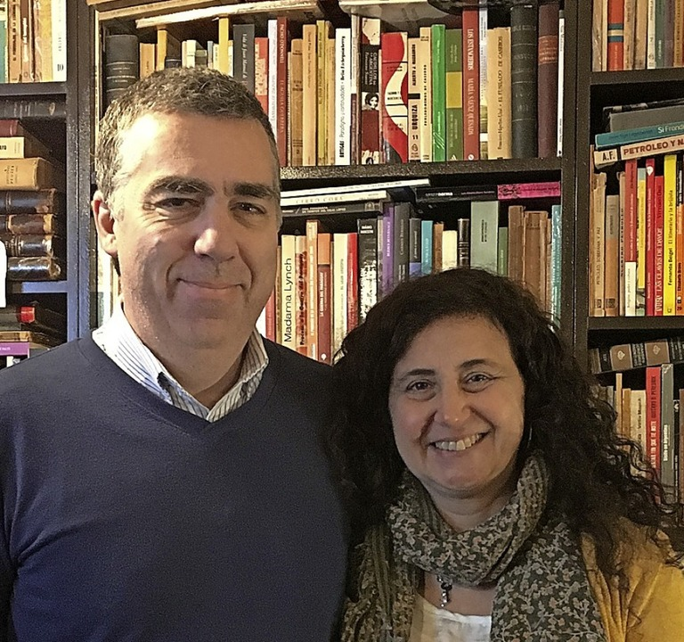 Oscar Campos und Mirta Ancona    Foto: Sandra Weiss