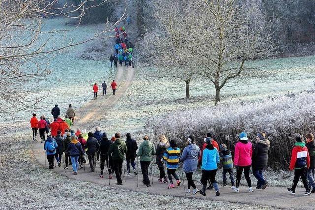 Läufer-Rekord beim Silvesterlauf in Hofweier