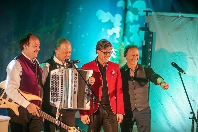 Klingende Bergweihnacht mit Hansy Vogt gastierte in Ettenheim