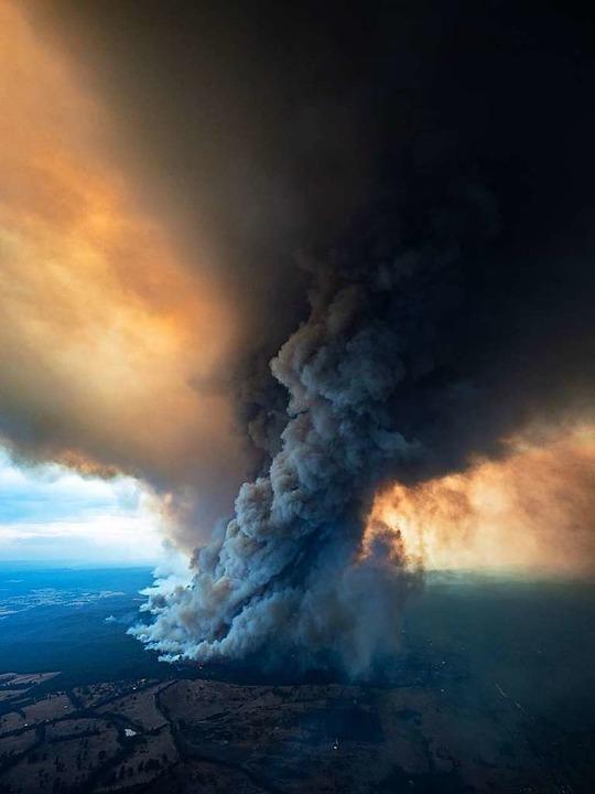 Buschbrände in Australien.  | Foto: - (dpa)