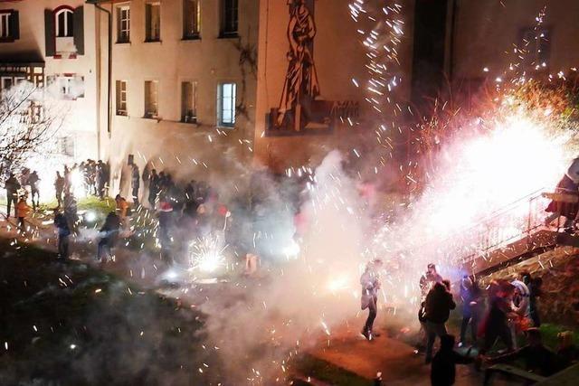 An Neujahr muss die Feuerwehr in Bad Säckingen gleich zweimal ausrücken