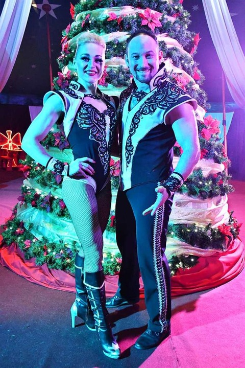 Leonardo und Vita Costache gehören zu den Highlights im Zirkusprogramm.  | Foto: Barbara Ruda