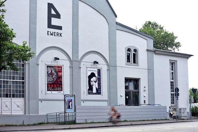 Im Freiburger E-Werk fand ein Stadtjubiläum der anderen Art statt