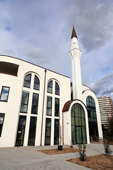 Die Moschee in der Vogesenstraße.    Foto: Christoph Breithaupt