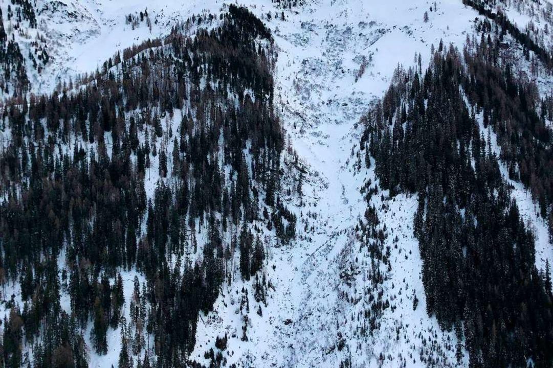 Bei dem Lawinenabgang in Tirol in Öste...st ein Mann aus Rheinfelden gestorben.    Foto: Zeitungsfoto.At, Daniel Liebl (dpa)