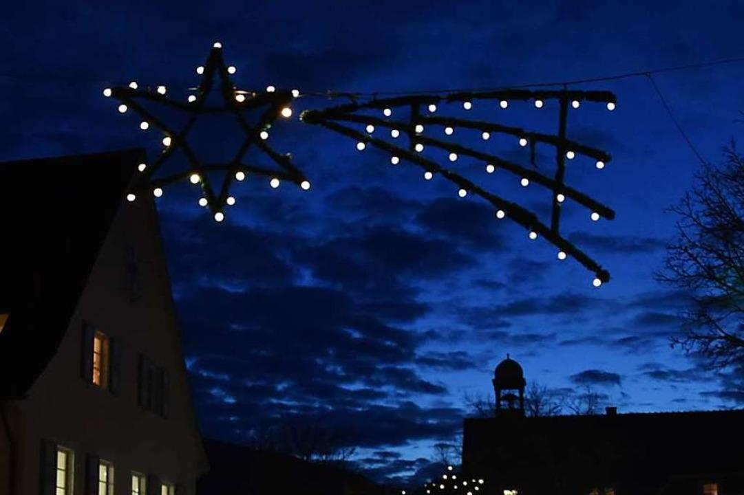 """Folgen wir dem Stern"" lau...ft eines Krippenspiels in Kirchzarten.    Foto: Markus Donner"