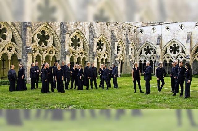Das John-Sheppard-Ensemble lädt zum Weihnachtskonzert