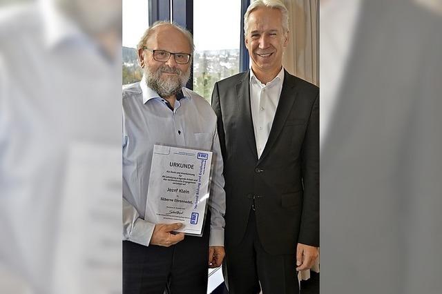 Verband Bildung und Erziehung ehrt Josef Klein