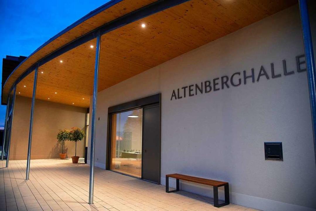 Anfang 2019 konnte die Altenberghalle in Laufen eingeweiht werden.  | Foto: Volker Münch