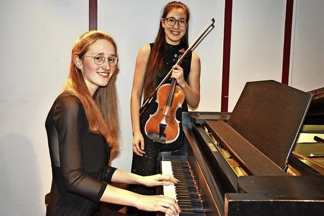 Hochbegabtes Duo und tolle Solisten