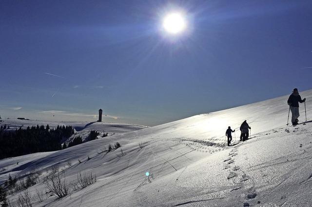 Schneeschuhtouren am Feldberg