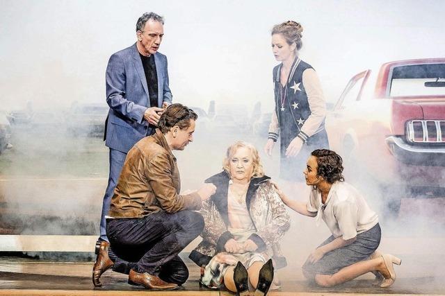 Doris Kunstmann, Julia Hansen und Heio con Stetten in Lahr