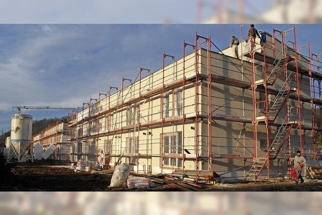 In Haagen wird kräftig gebaut