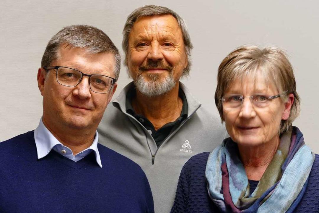 Robert Kölblin (links) leitet künftig ...e  zweite Vorsitzende ist Ute Schmitz.  | Foto: Sabine Ehrentreich