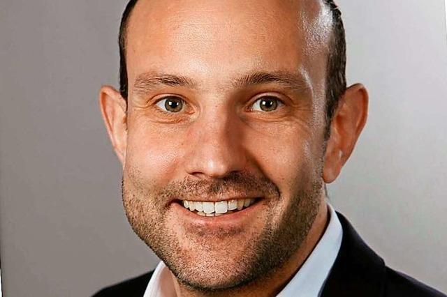 Christoph Zachow kandidiert in Heitersheim