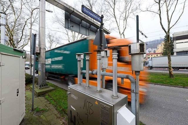 Freiburg liegt seit Jahren erstmals unter dem Grenzwert für Stickoxid