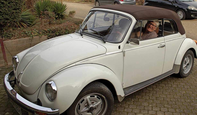 Cabrio-Fahrer aus Passion.  | Foto: Klaus Fischer