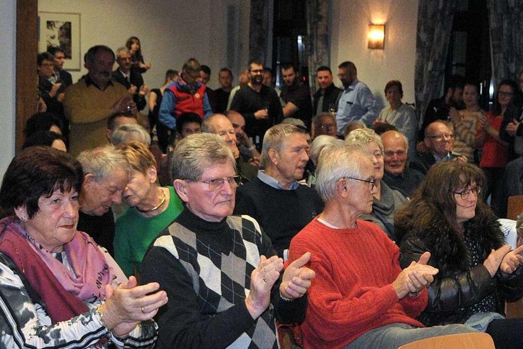 Der Neujahrsempfang in Istein war wieder gut besucht.  | Foto: Regine Ounas-Kräusel