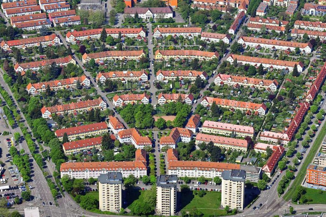 Der Bauverein Breisgau will seine Wohn...tadt nach und nach umfassend sanieren.  | Foto: Erich Meyer