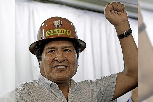 Morales macht munter weiter