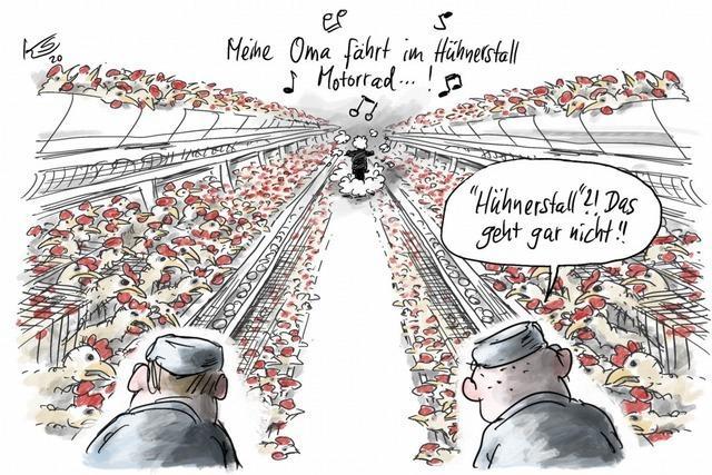 Jetzt ist auch noch die Tierproduktionsindustrie beleidigt!