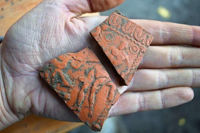 Was bei der archäologischen Grabung in der Leopoldstraße bislang gefunden wurde