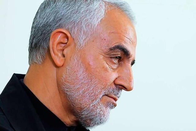 US-Militär tötet hohen iranischen General bei Raketenangriff