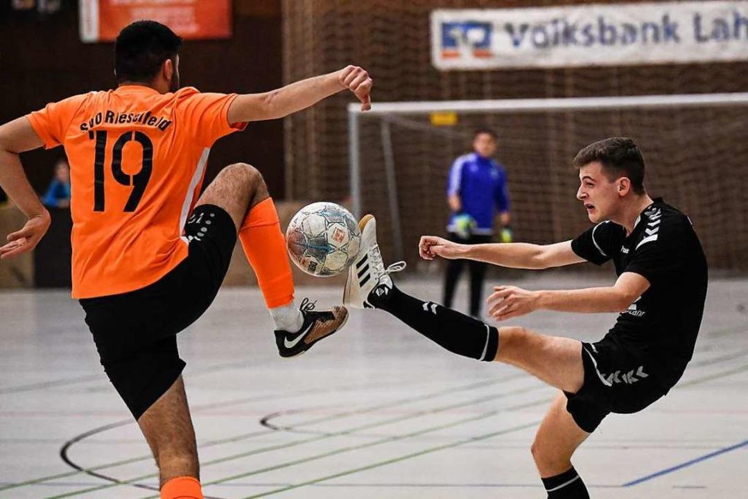 Überraschung, Überraschung: B-Kreislig...dsligisten SC Lahr aus dem Wettbewerb.  | Foto: Patrick Seeger