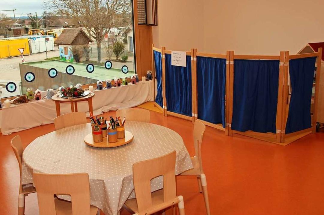 Die Räume des neuen Kindergartens gewähren weite Ausblicke.  | Foto: Mario Schöneberg