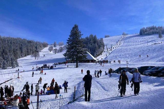 Der Stollenbach-Skilift in Oberried ist der nächstgelegene Lift für die Freiburger