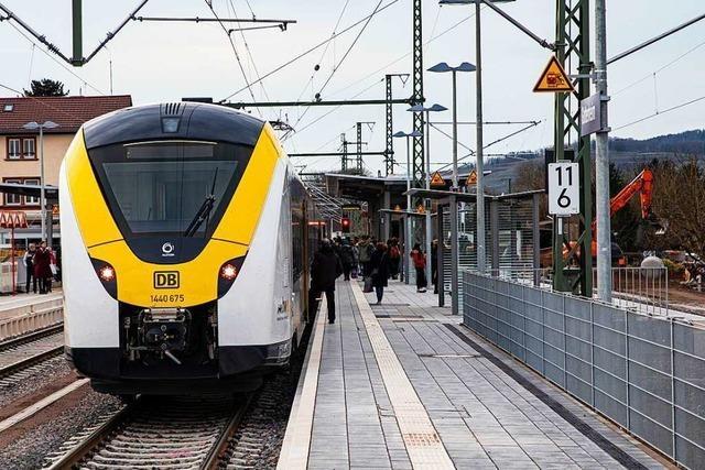 Breisgau-S-Bahn will zum Halbstundentakt am Kaiserstuhl zurückkehren