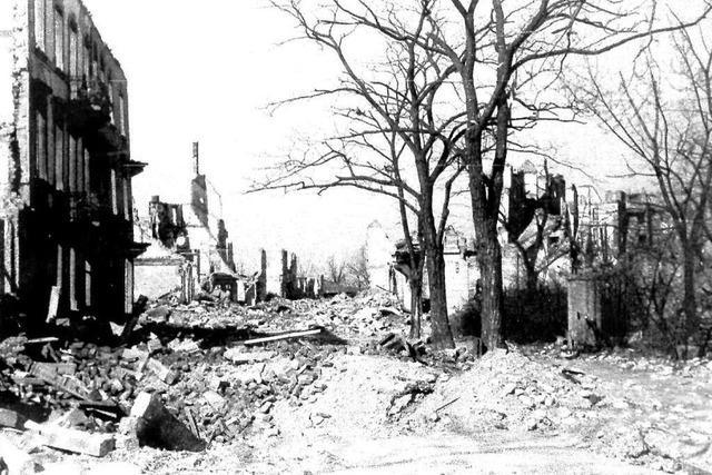 So erlebten die Freiburger den Kriegswinter 1944/45