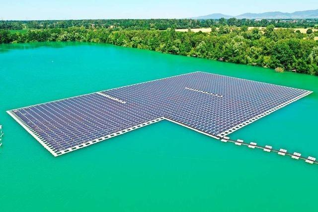 Südbadische Entwickler tüfteln an schwimmenden Solarparks