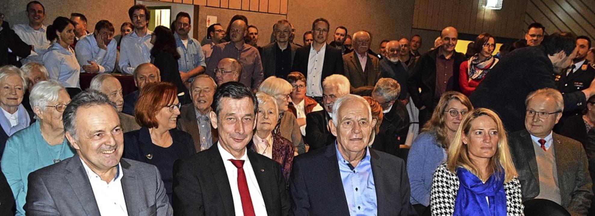 Sehr gut besucht war der Todtnauer Neu... und Peter Palme (Zell im Wiesental).   | Foto: Ulrike Jäger