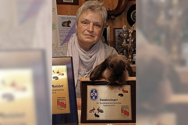 Bundessieg mit Zwergwidder für Marlis Richter