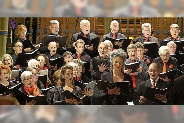 Power-Gala mit 175 Sängern und Musikern