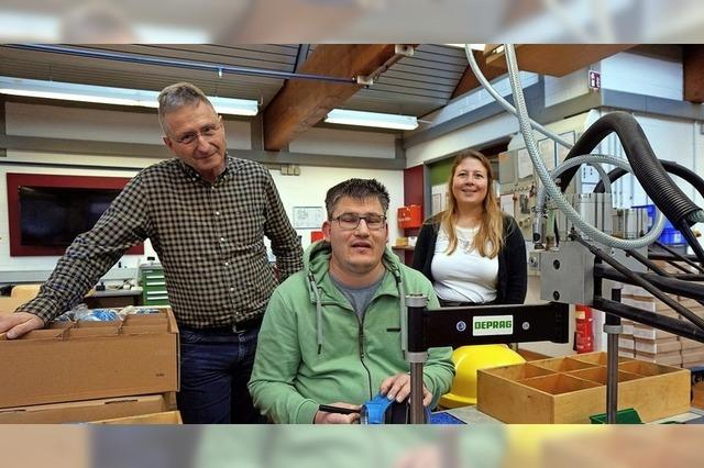 Arbeit für Menschen mit Handicap