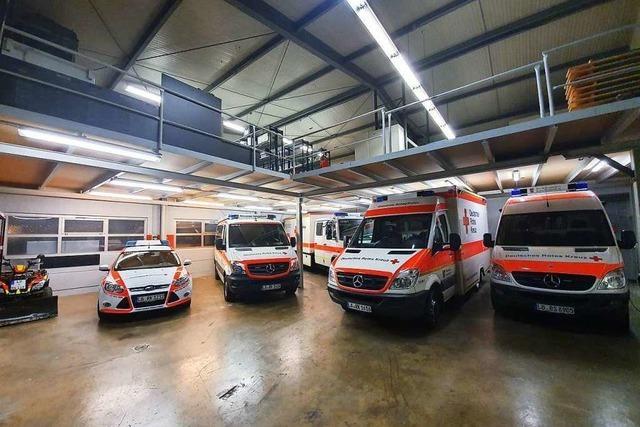 Das Schopfheimer Rote Kreuz hat endlich genug Platz