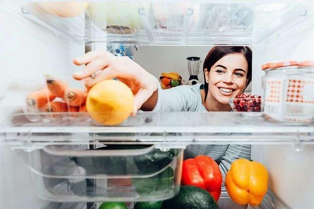 In Teningen gibt es jetzt den ersten Fairteiler-Kühlschrank