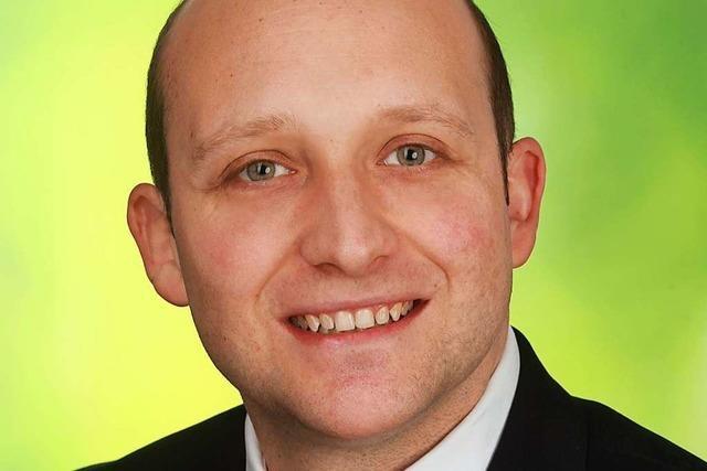 Andreas Volk will sich für Kinderbetreuung und Integration in Glottertal einsetzen