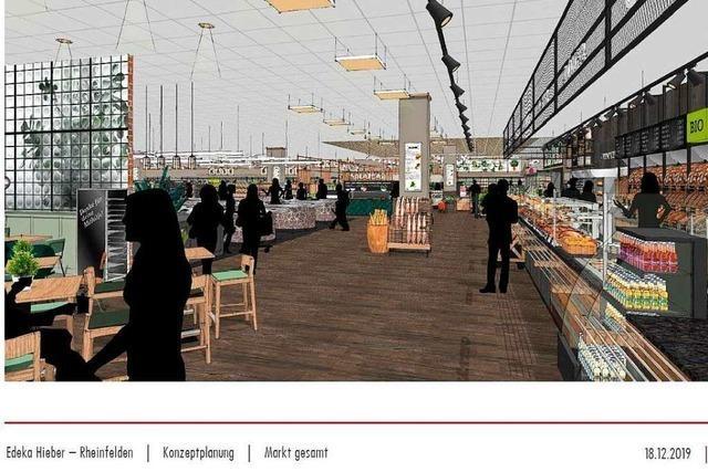 Hieber investiert rund 2 Millionen Euro in den Rheinfelder Innenstadt-Markt