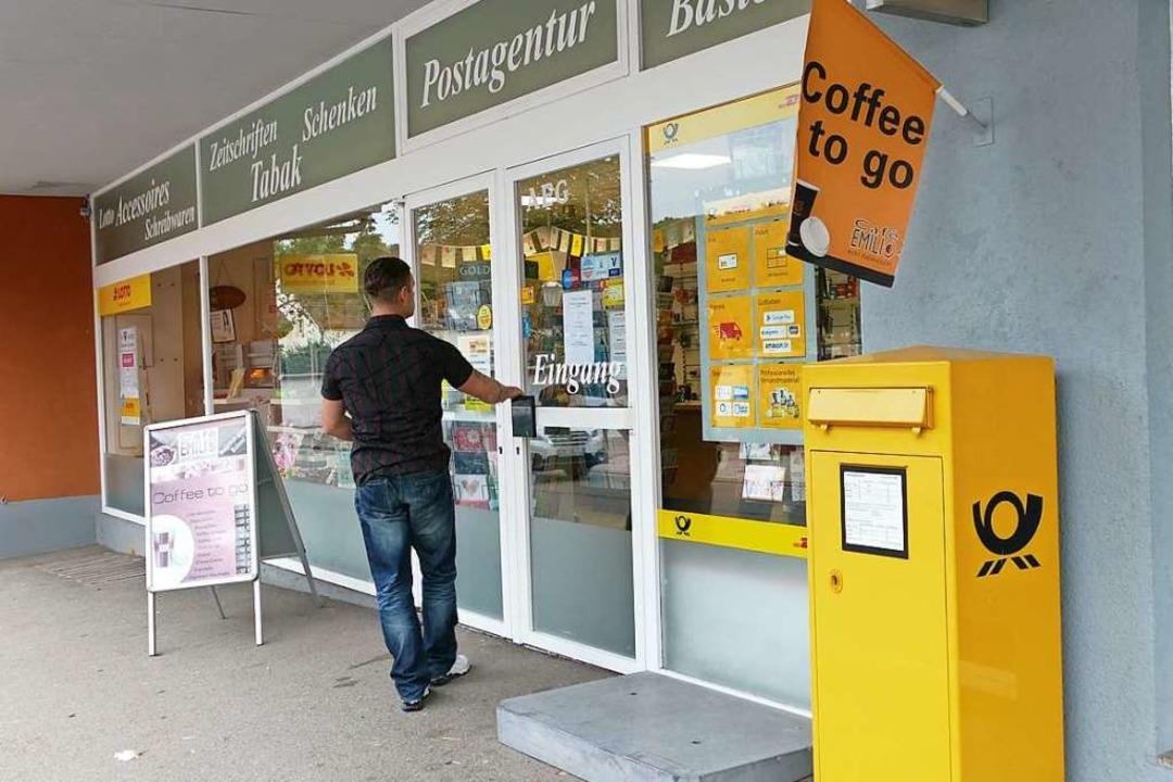 In Schliengen hat die Post jetzt nur noch halbtags geöffnet.  | Foto: Victoria Langelott